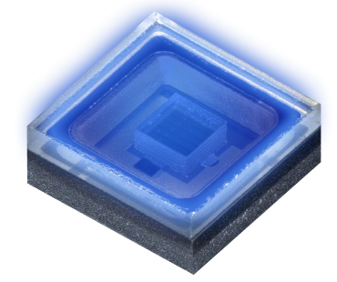 UV LED used by Typhon's technology